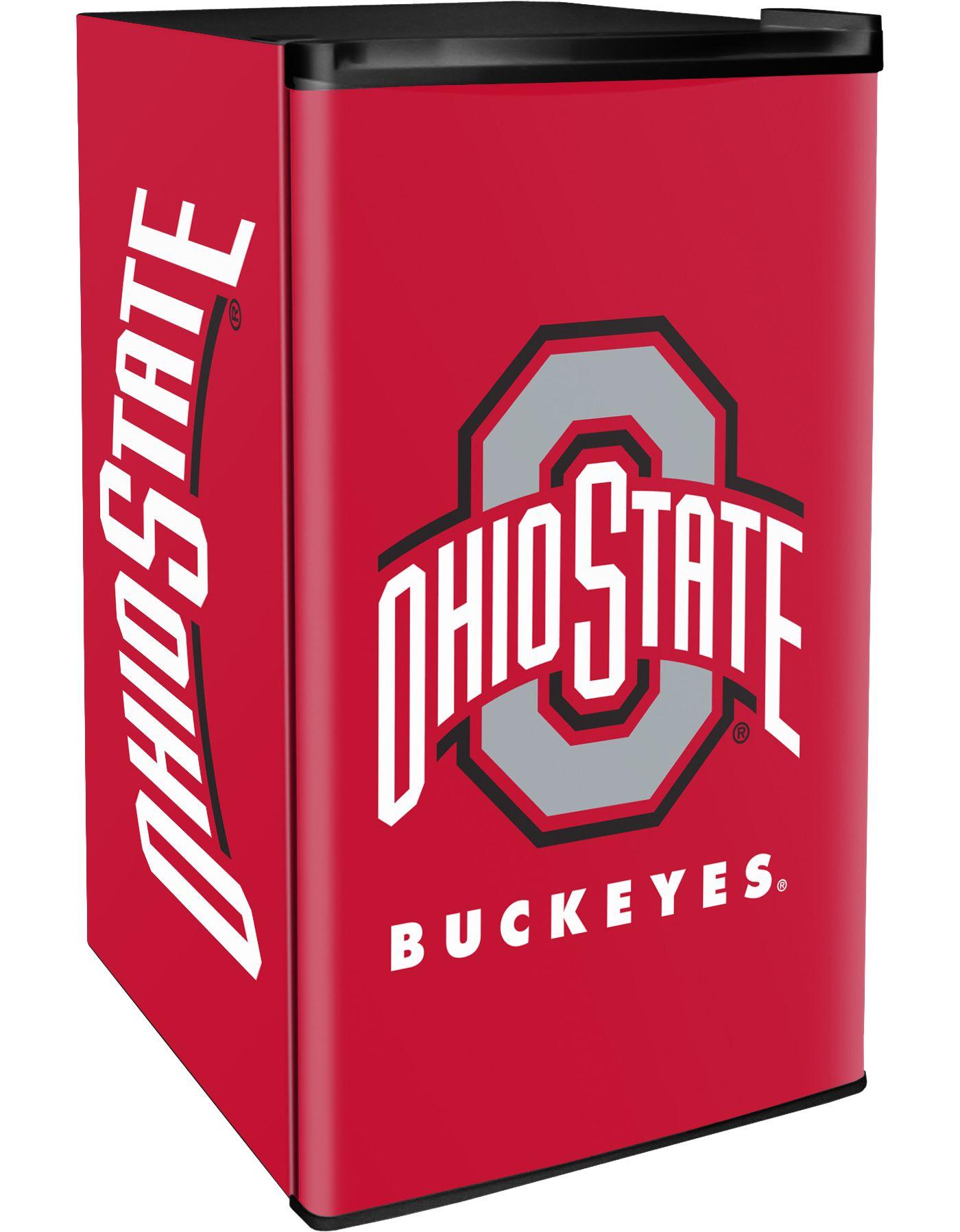 Boelter Ohio State Buckeyes Counter Top Height Refrigerator