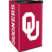 Boelter Oklahoma Sooners Counter Top Height Refrigerator