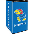 Boelter Kansas Jayhawks Counter Top Height Refrigerator