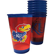 Boelter Kansas Jayhawks Souvenir 20oz Plastic Cup 8-Pack