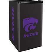 Boelter Kansas State Wildcats Counter Top Height Refrigerator
