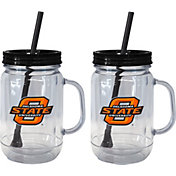 Boelter Oklahoma State Cowboys 20oz Handled Straw Tumbler 2-Pack
