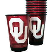 Boelter Oklahoma Sooners Souvenir 20oz Plastic Cup 8-Pack
