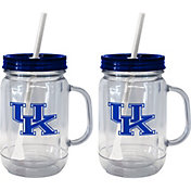 Boelter Kentucky Wildcats 20oz Handled Straw Tumbler 2-Pack