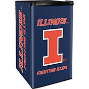 Boelter Illinois Fighting Illini Counter Top Height Refrigerator