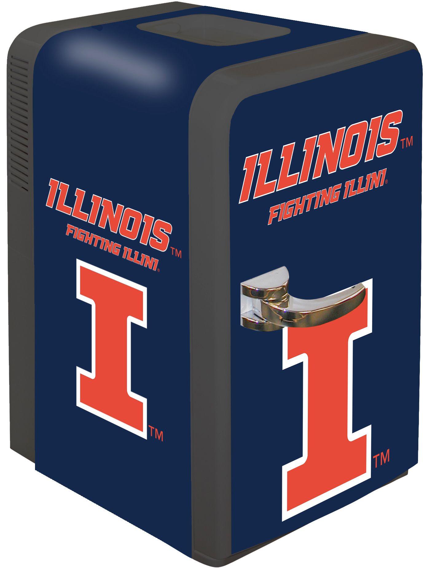 Boelter Illinois Fighting Illini 15q Portable Party Refrigerator