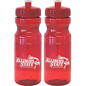 Boelter Illinois State Redbirds 24oz Squeeze Water Bottle 2-Pack