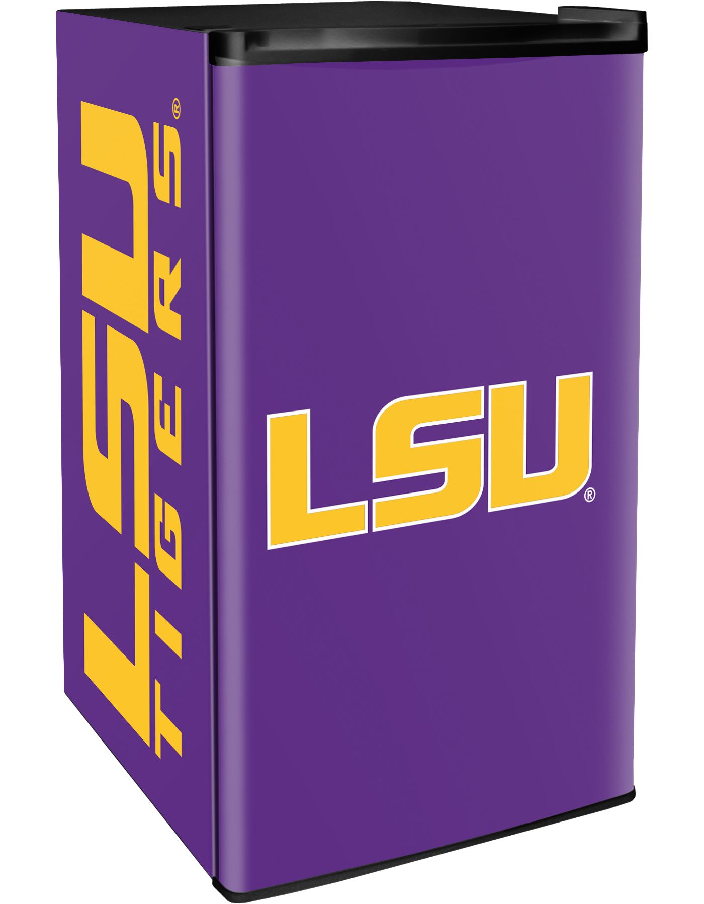 Boelter LSU Tigers Counter Top Height Refrigerator