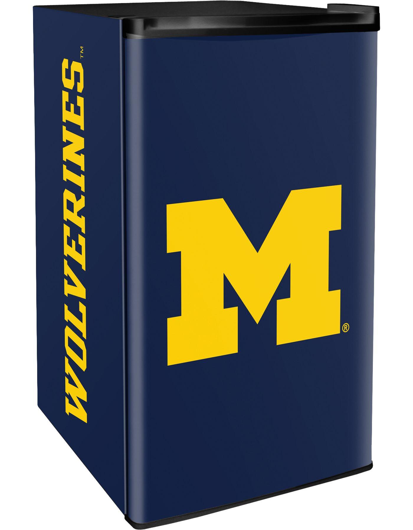 Boelter Michigan Wolverines Counter Top Height Refrigerator