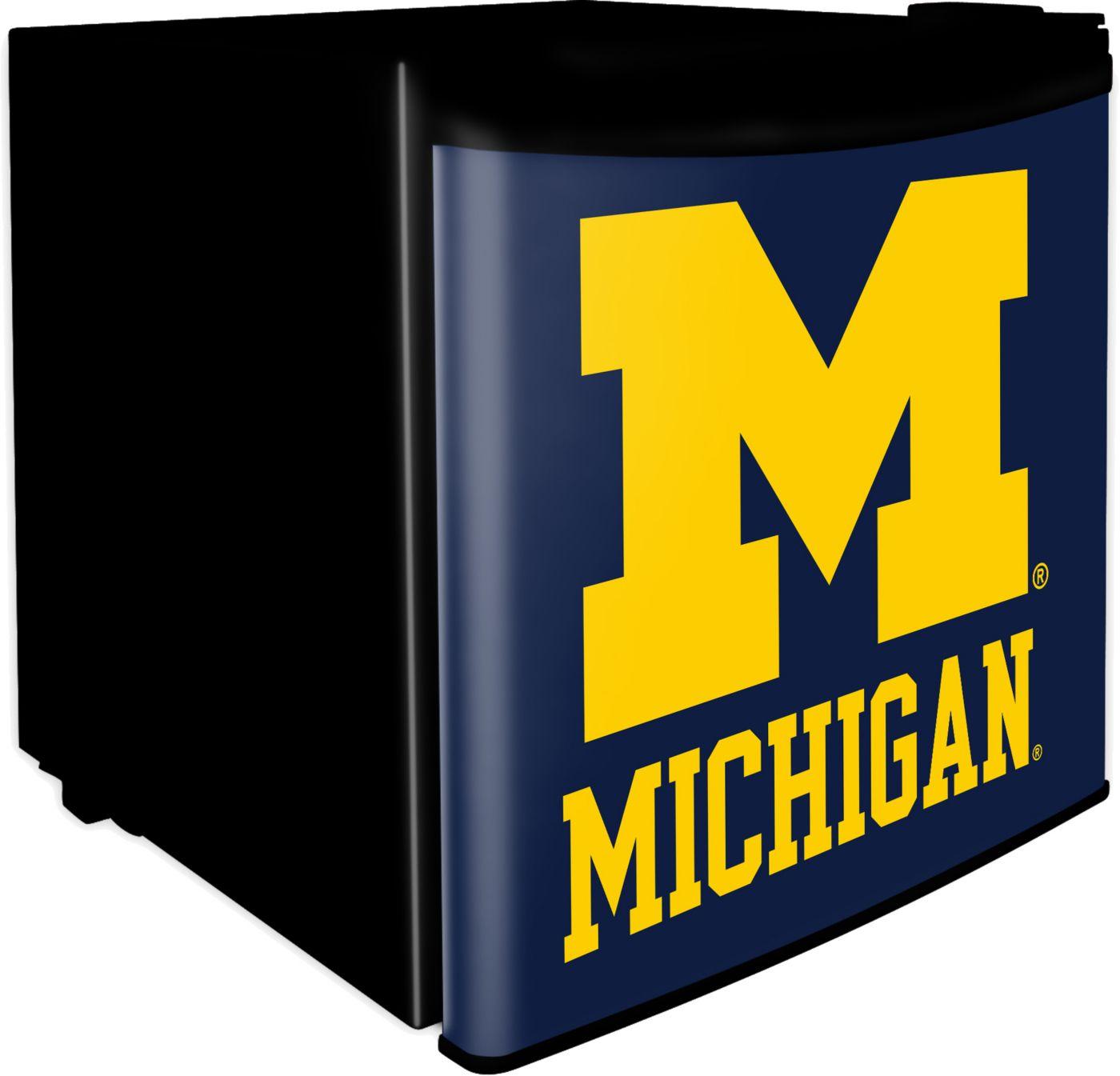 Boelter Michigan Wolverines Dorm Room Refrigerator