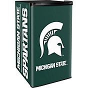 Boelter Michigan State Spartans Counter Top Height Refrigerator