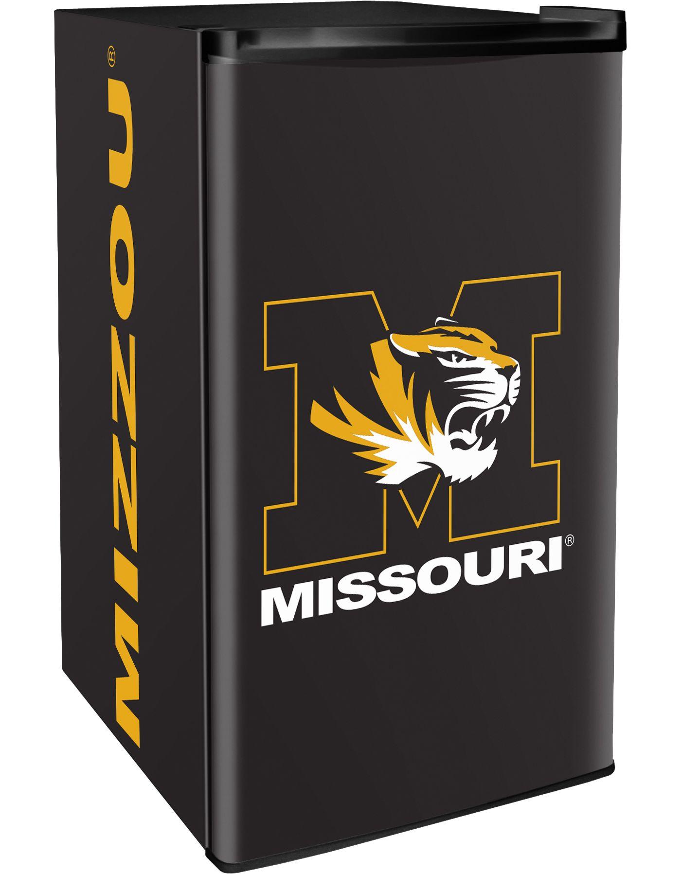 Boelter Missouri Tigers Counter Top Height Refrigerator