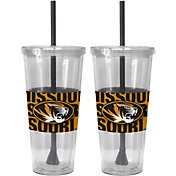 Boelter Missouri Tigers Bold Sleeved 22oz Straw Tumbler 2-Pack