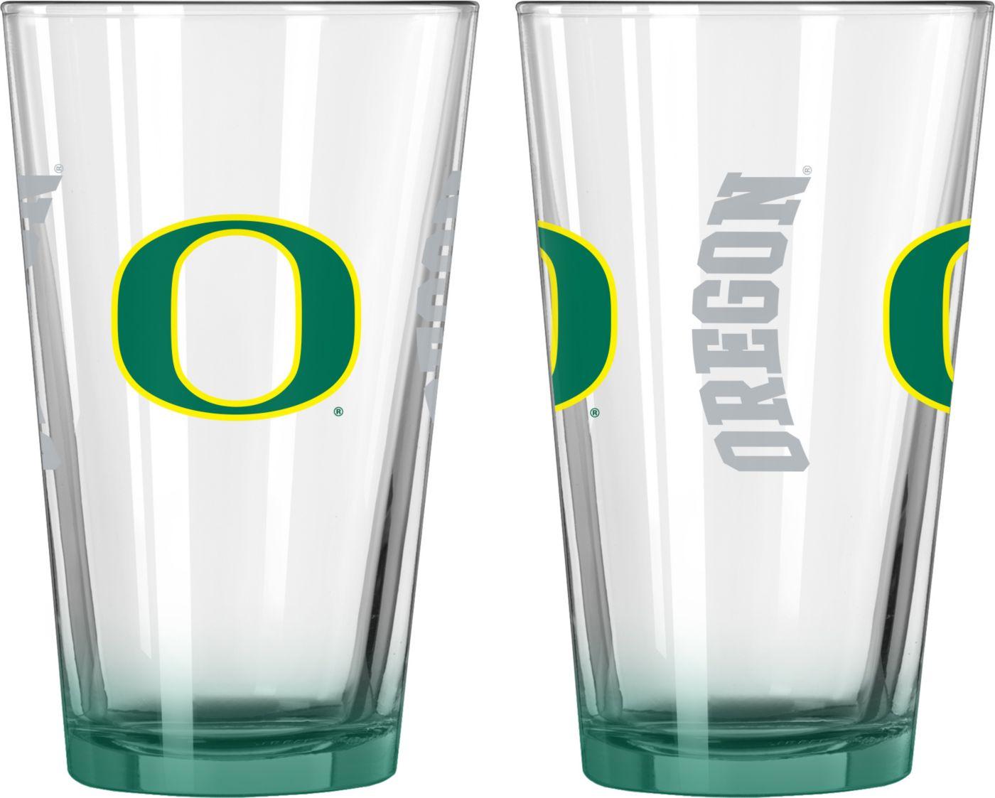Boelter Oregon Ducks 16oz Elite Pint 2-Pack
