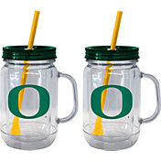 Boelter Oregon Ducks 20oz Handled Straw Tumbler 2-Pack