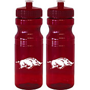Boelter Arkansas Razorbacks 24oz Squeeze Water Bottle 2-Pack