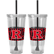 Boelter Rutgers Scarlet Knights Bold Sleeved 22oz Straw Tumbler 2-Pack