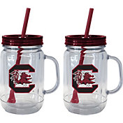Boelter South Carolina Gamecocks 20oz Handled Straw Tumbler 2-Pack