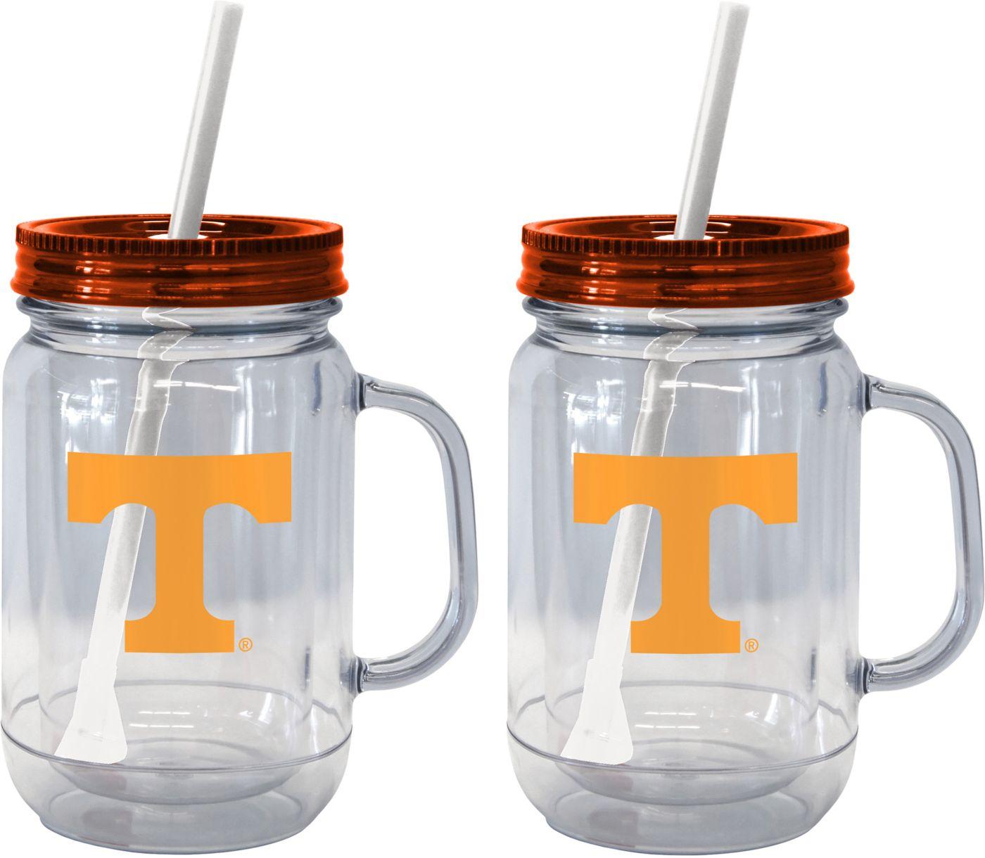 Boelter Tennessee Volunteers 20oz Handled Straw Tumbler 2-Pack