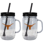 Boelter Texas Longhorns 20oz Handled Straw Tumbler 2-Pack