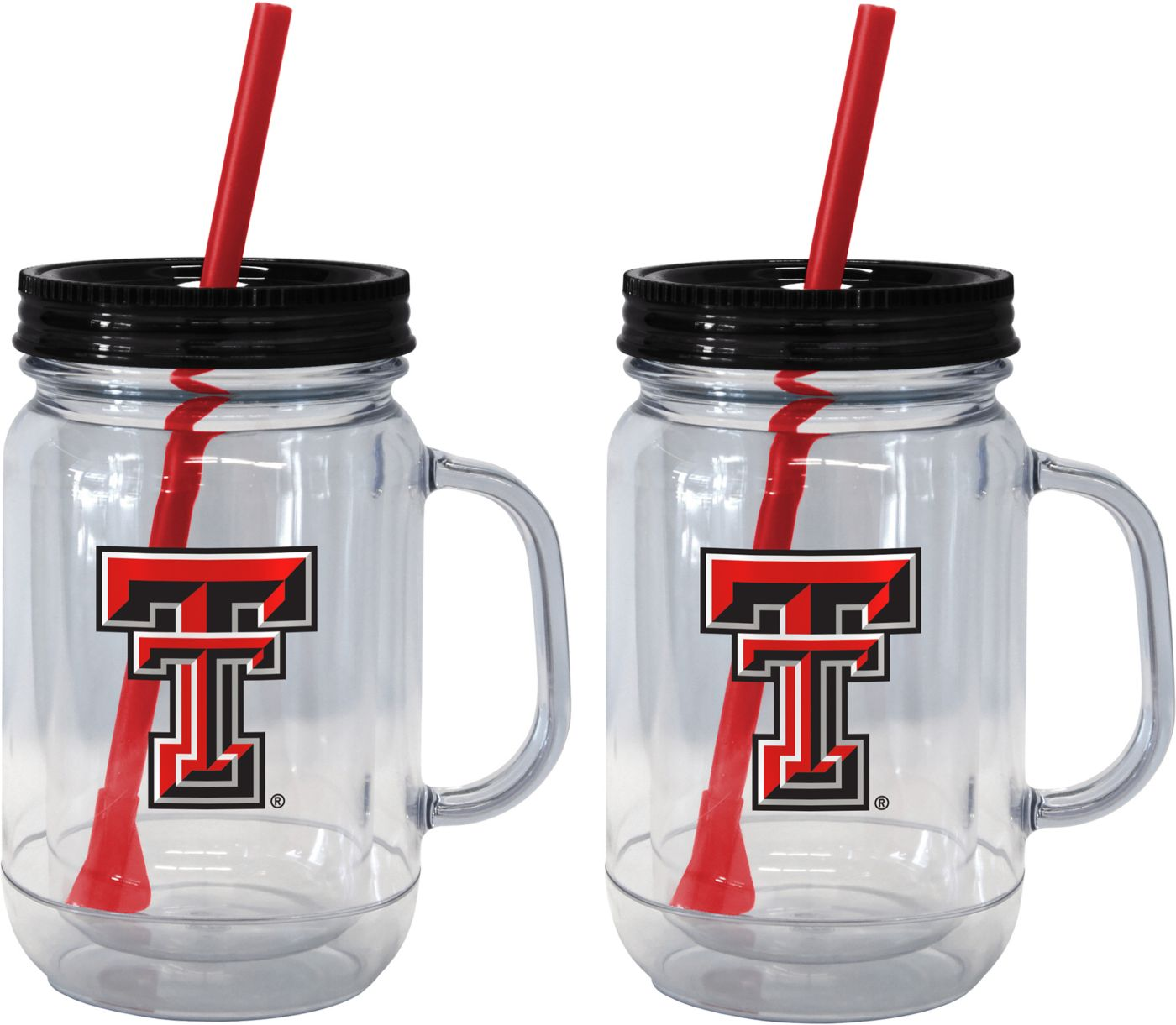 Boelter Texas Tech Red Raiders 20oz Handled Straw Tumbler 2-Pack