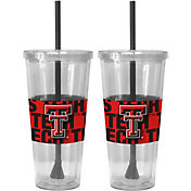 Boelter Texas Tech Red Raiders Bold Sleeved 22oz Straw Tumbler 2-Pack