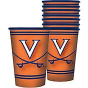 Boelter Virginia Cavaliers Souvenir 20oz Plastic Cup 8-Pack