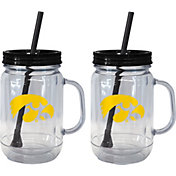 Boelter Iowa Hawkeyes 20oz Handled Straw Tumbler 2-Pack