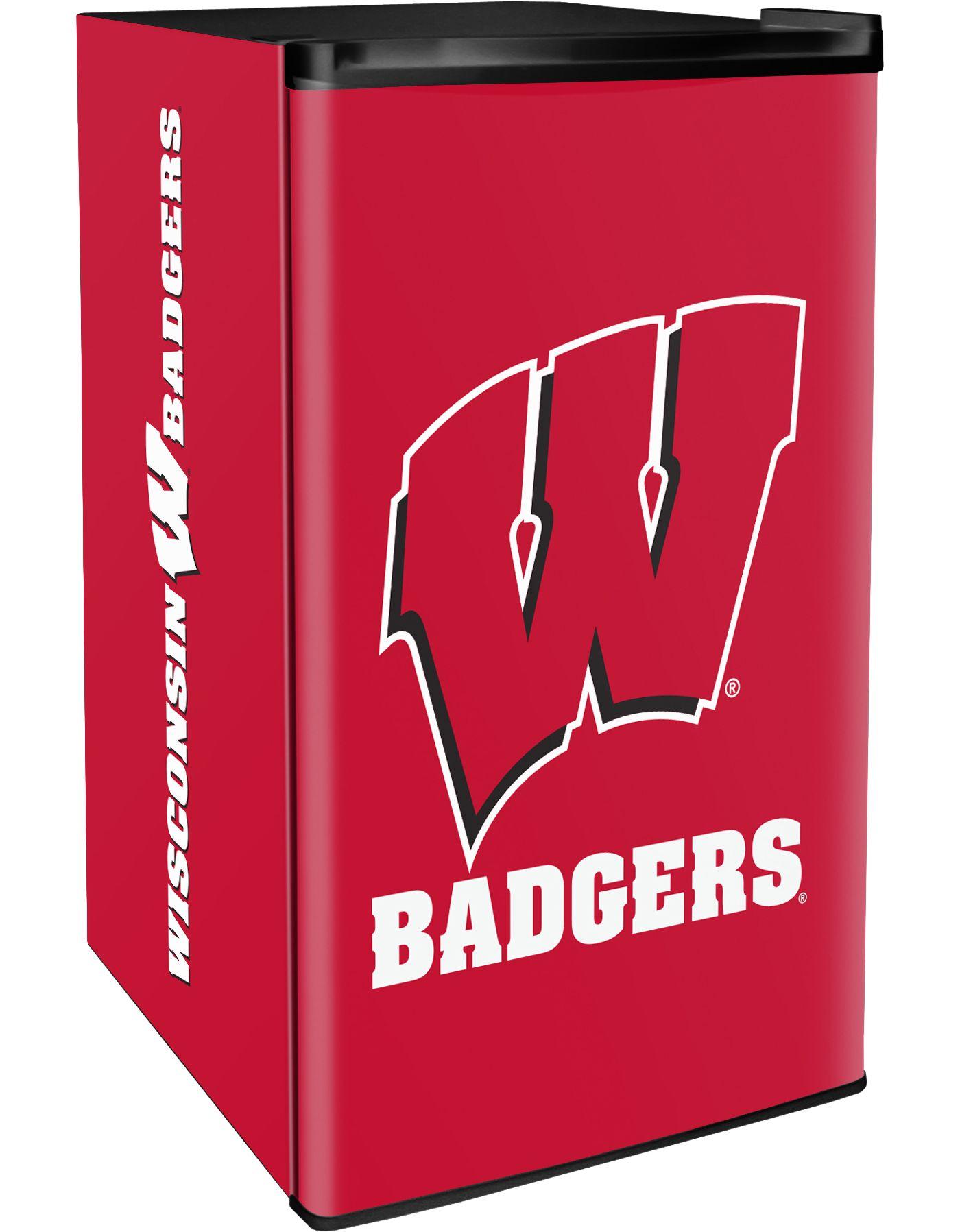 Boelter Wisconsin Badgers Counter Top Height Refrigerator