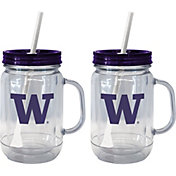 Boelter Washington Huskies 20oz Handled Straw Tumbler 2-Pack