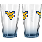 Boelter West Virginia Mountaineers 16oz Elite Pint 2-Pack