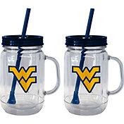 Boelter West Virginia Mountaineers 20oz Handled Straw Tumbler 2-Pack