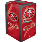 Boelter San Francisco 49ers 15q Portable Party Refrigerator