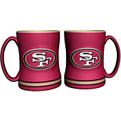 Boelter San Francisco 49ers Relief 14oz Coffee Mug 2-Pack