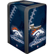 Boelter Denver Broncos 15q Portable Party Refrigerator
