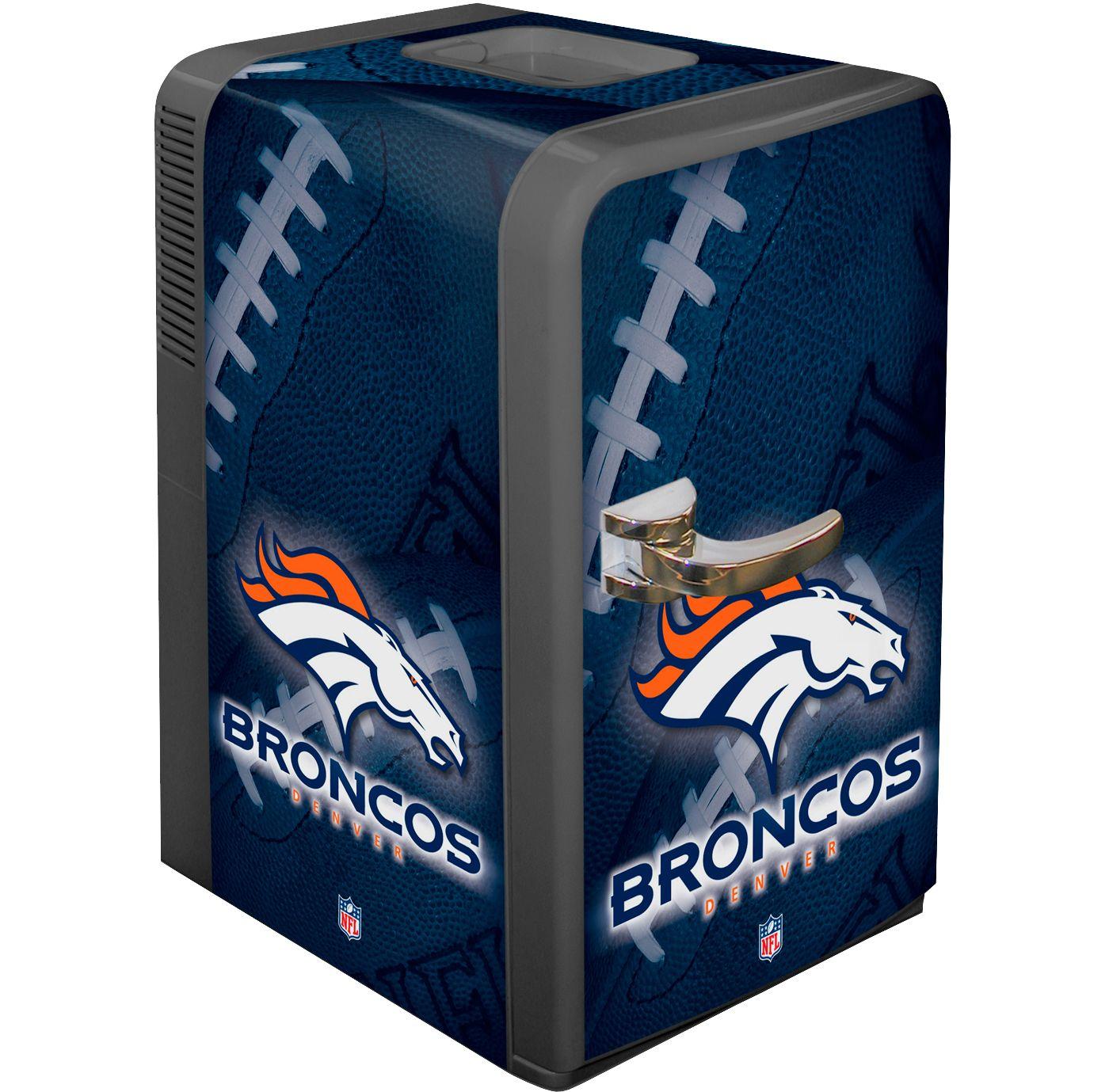 Boelter Denver Broncos 15q Portable Party Refrigerator