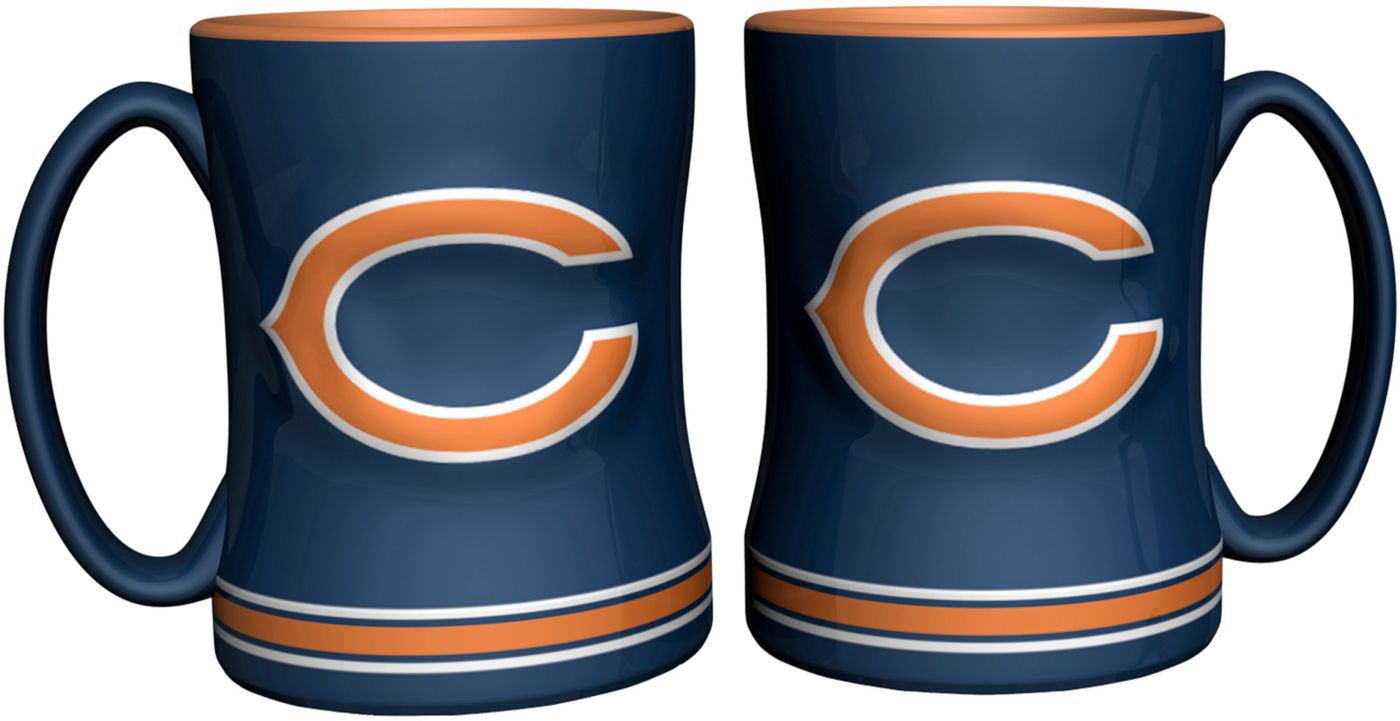 Boelter Chicago Bears Relief 14oz Coffee Mug 2-Pack