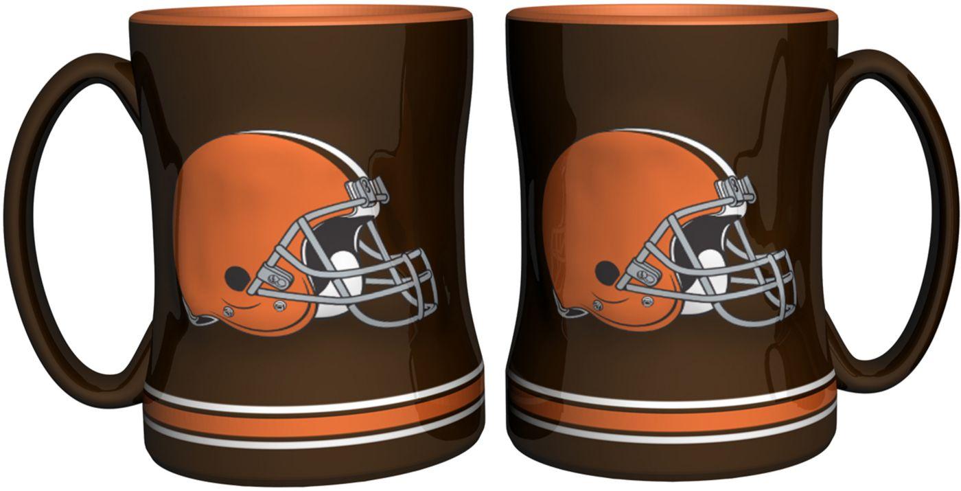 Boelter Cleveland Browns Relief 14oz Coffee Mug 2-Pack