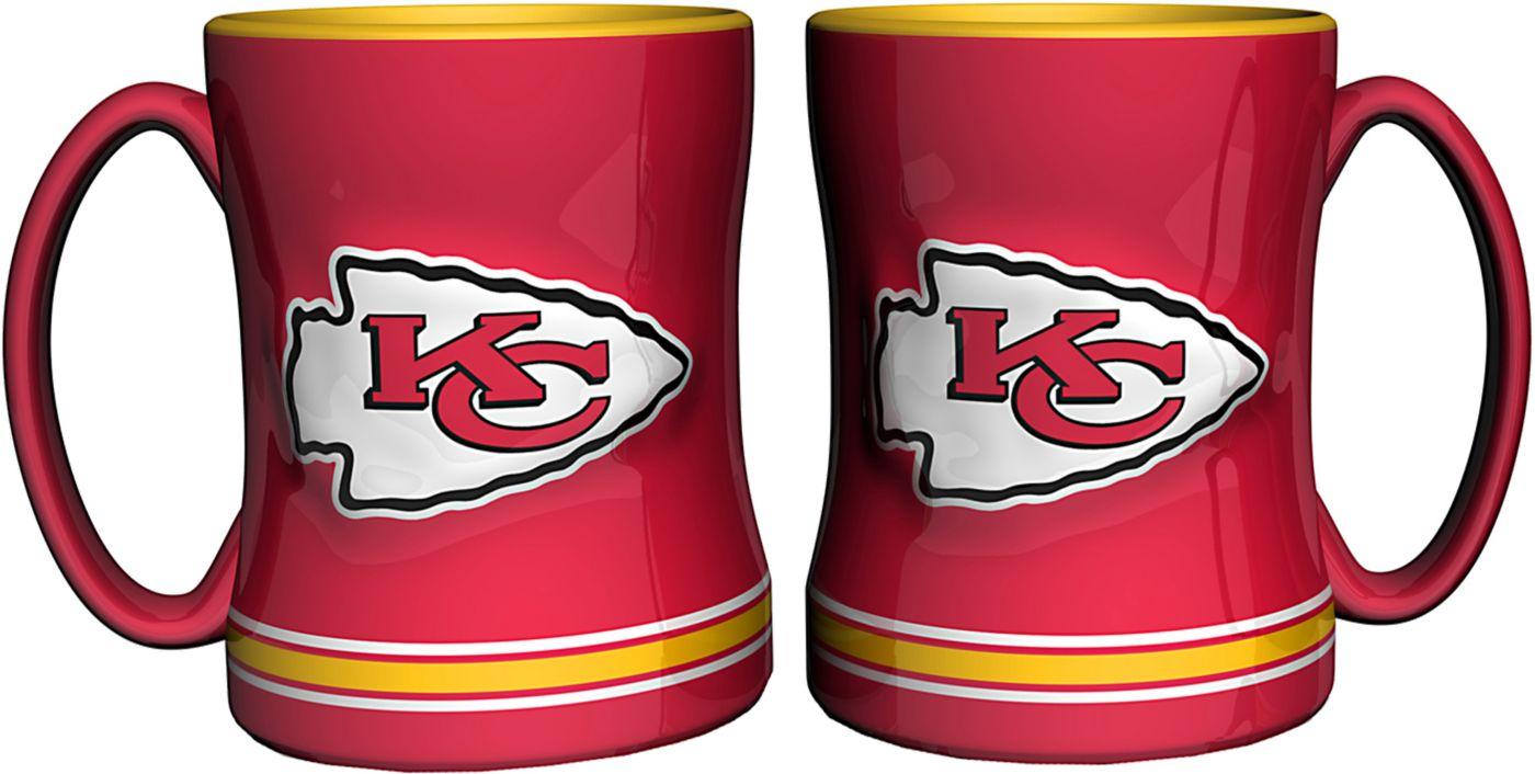 Boelter Kansas City Chiefs Relief 14oz Coffee Mug 2-Pack