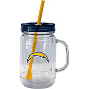 Boelter Los Angeles Chargers 20oz Handled Straw Tumbler 2-Pack