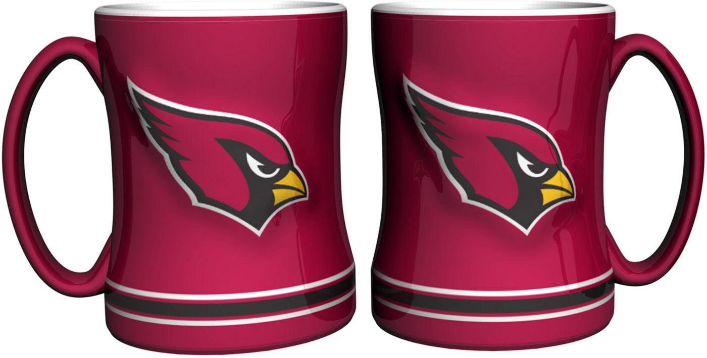Boelter Arizona Cardinals Relief 14oz Coffee Mug 2-Pack