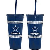Boelter Dallas Cowboys Bling 22oz Straw Tumbler 2-Pack