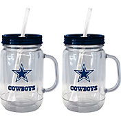 Boelter Dallas Cowboys 20oz Handled Straw Tumbler 2-Pack