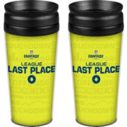 Boelter NFL Fantasy Football 14oz. Last Place Travel Tumbler 2-Pack