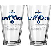 Boelter NFL Fantasy Football 16oz. Last Place Satin Etched Pint 2-Pack