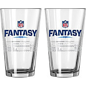 Boelter NFL Fantasy Football 16oz. Satin Etched Pint 2-Pack