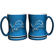 Boelter Detroit Lions Relief 14oz Coffee Mug 2-Pack