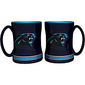 Boelter Carolina Panthers Relief 14oz Coffee Mug 2-Pack