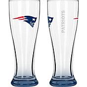 Boelter New England Patriots 16oz Elite Pilsner 2-Pack