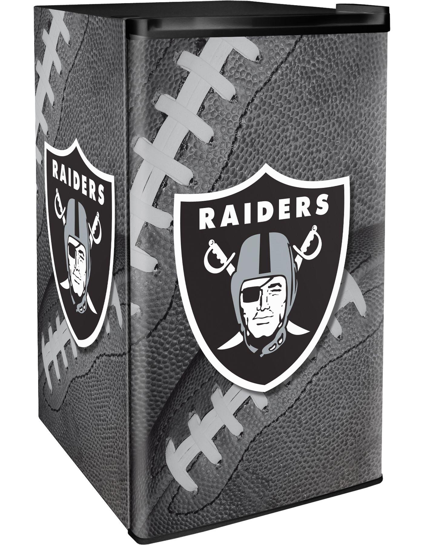 Boelter Oakland Raiders Counter Top Height Refrigerator